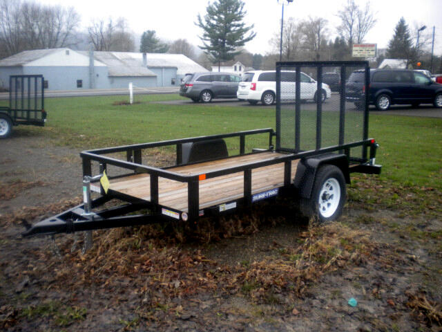 2018 Sure-Trac Tube Top Utility Trailer ST6208TA-B-030   5X8
