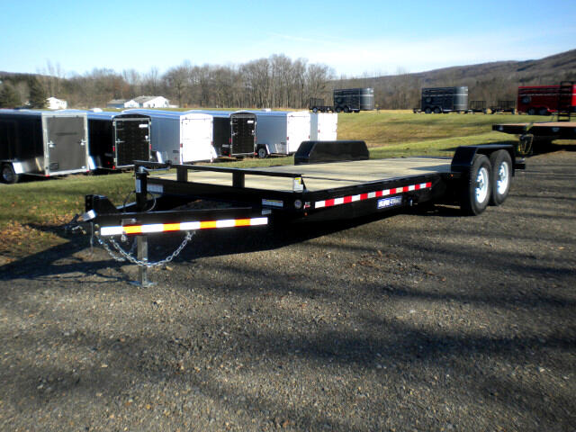 2018 Sure-Trac Tilt Bed Equipment Trailer ST82184FWTE-B-140  TILT