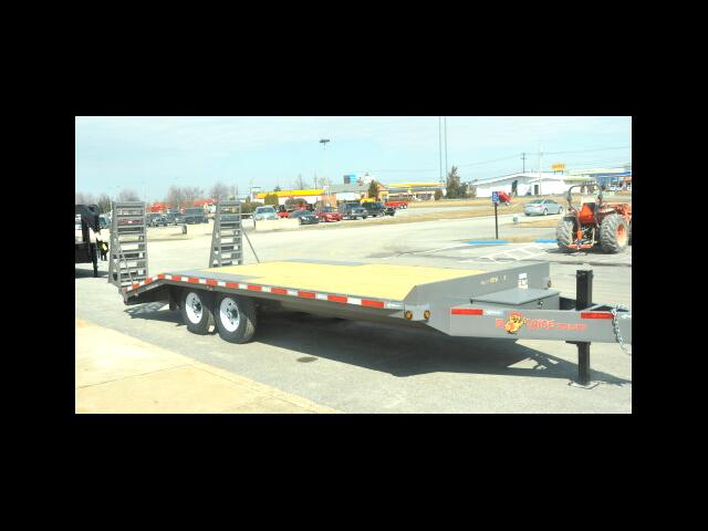 2014 BWise Deckover Equipment Trailer EDB20-15  15 FT WITH 5 FT ADJUSTABLE DOVETAIL