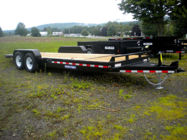 2018 Sure-Trac Tilt Bed Equipment 7X18+4 EQUIPMENT TRAILER 14K