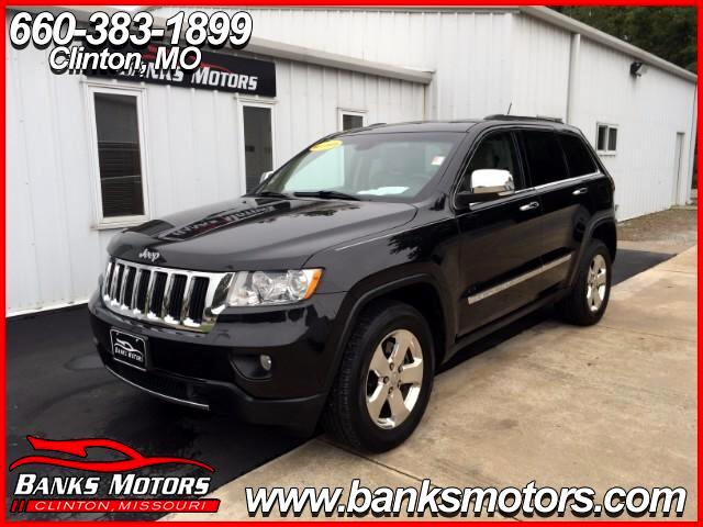 2013 Jeep Grand Cherokee Limited 4X4 Camera Heated Leather Navigation