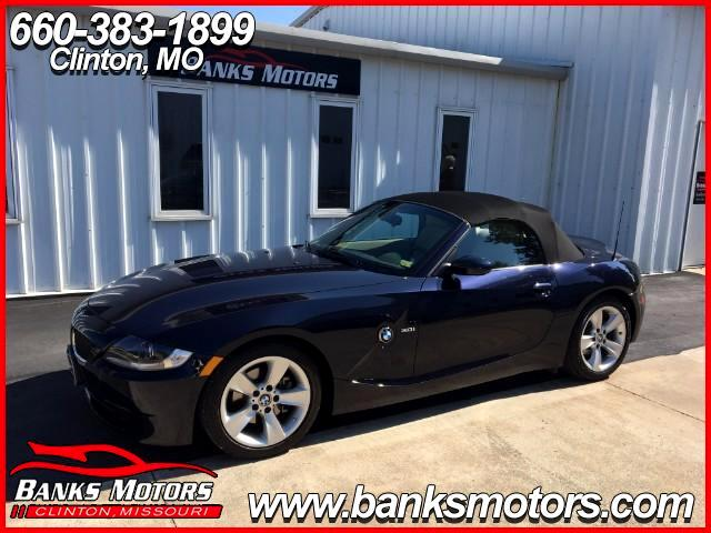 2007 BMW Z4 Roadster 3.0i Heated Leather Bose Convertible