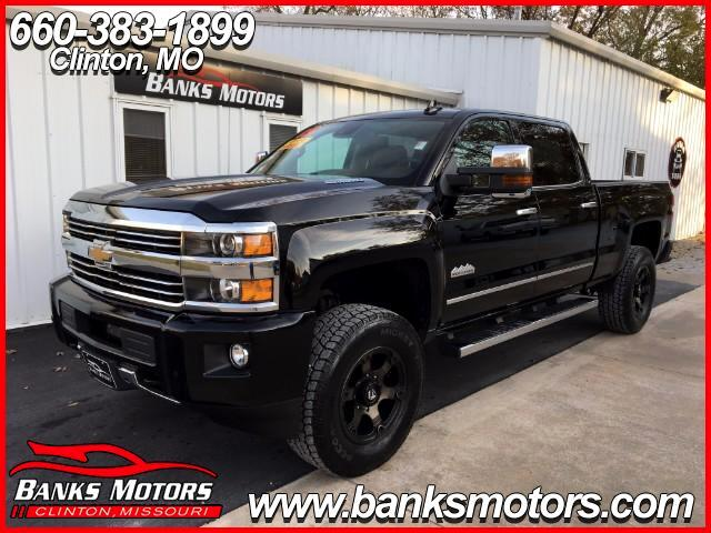2015 Chevrolet Silverado 3500HD High Country Crew Cab 4WD Navigation Camera Lifted