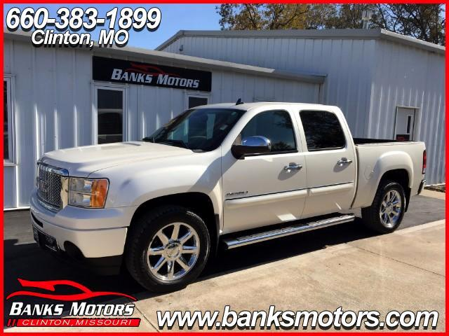 2011 GMC Sierra 1500 Denali Crew Cab 4WD Heated Cooled Seats Navigation