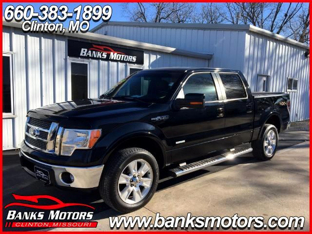 2011 Ford F-150 SuperCrew 4WD Eco Boost Heated Cooled Seats Camera