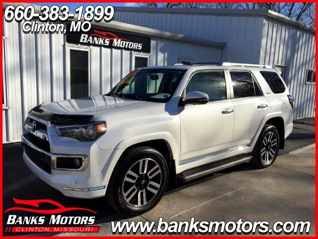 2014 Toyota 4Runner Limited 4WD Heated Cooled Leather Sunroof