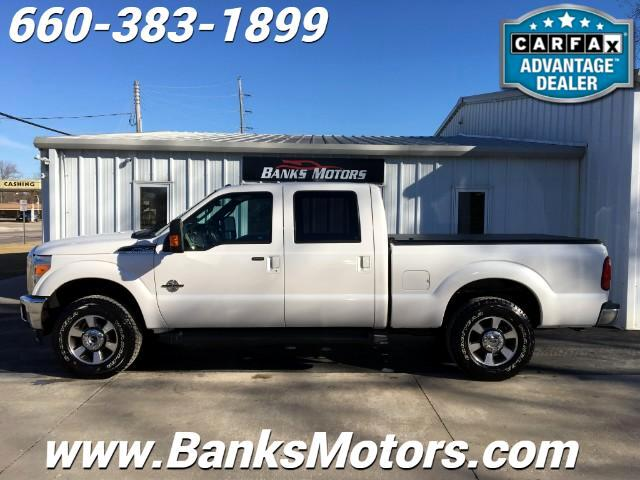 2014 Ford F-250 SD Lariat Crew Cab 4WD Power Stroke