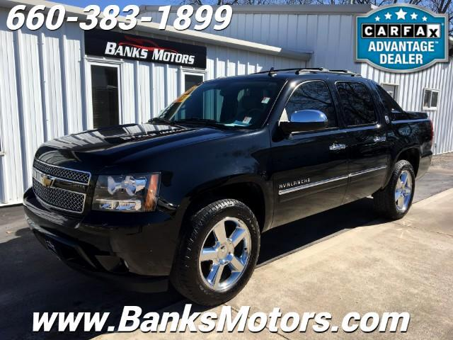 2013 Chevrolet Avalanche Black Diamond LTZ 4WD