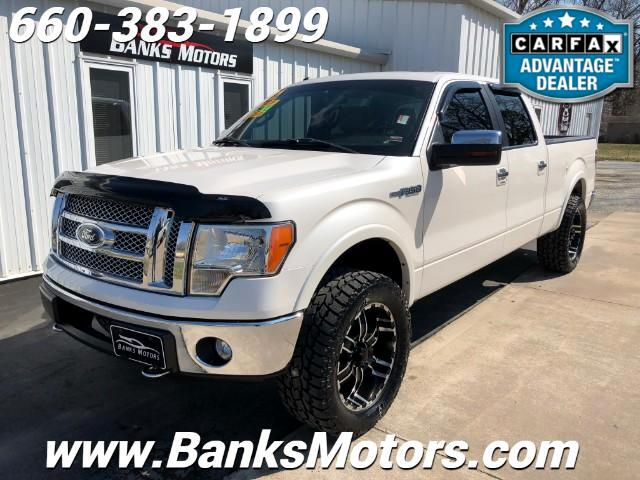 2012 Ford F-150 Lariat Super Crew 4x4 Eco Boost