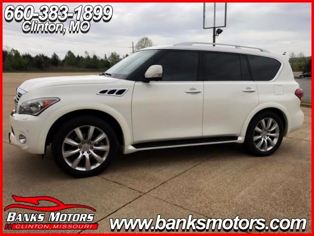 2011 Infiniti QX56 4WD HEATED LEATHER NAVIGATION BEAUTIFUL PEARL WHIT