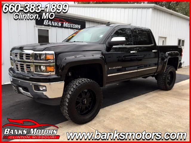 2015 Chevrolet Silverado 1500 LTZ 4X4 Heated Cooled Leather Navigation Lifted