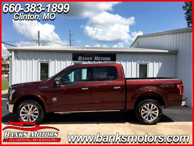 2015 Ford F-150 King Ranch 4WD Crew Cab