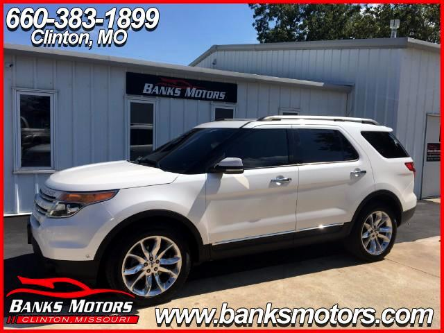 2011 Ford Explorer Limited 4X4 Sunroof Heated Cooled Leather Seats Re