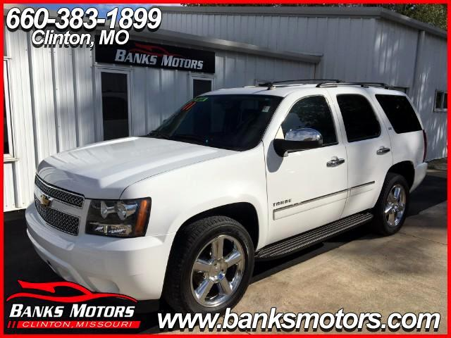 2011 Chevrolet Tahoe LTZ 4X4 Sunroof DVD Navigation Heated Cooled Leath