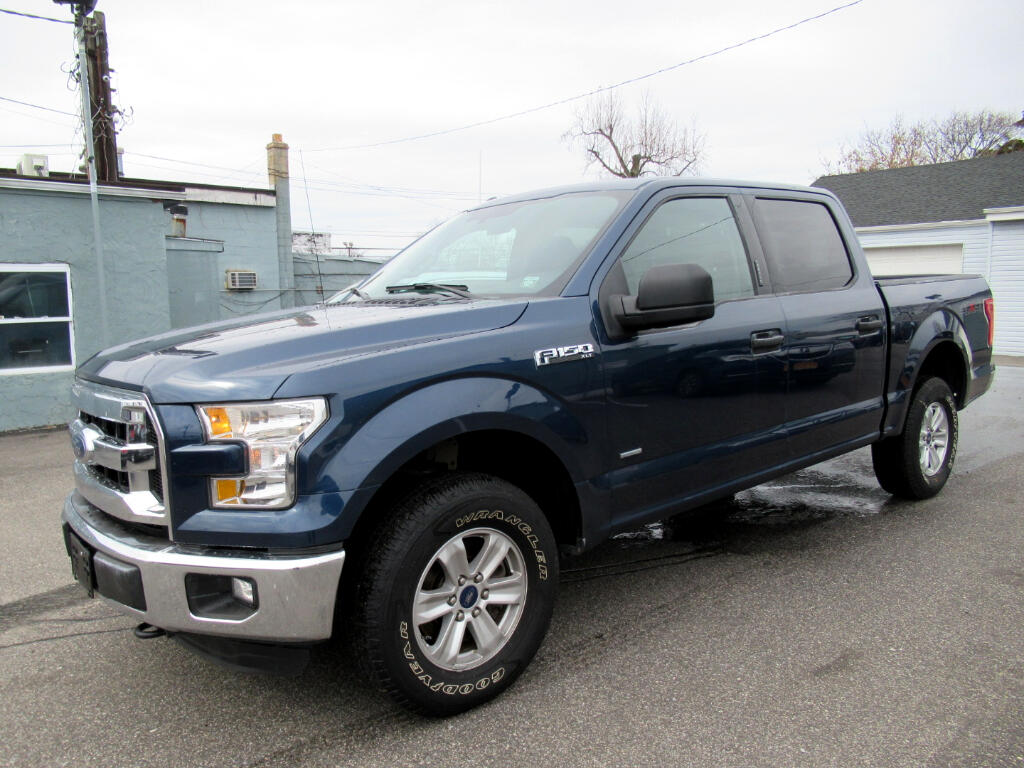 2016 Ford F-150 XL SuperCrew 5.5-ft. Bed 4WD