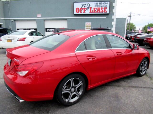 2014 mercedes benz cla red ny off lease for Mercedes benz cla lease