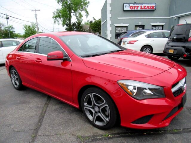 2014 mercedes benz cla red ny off lease for Mercedes benz used car lease