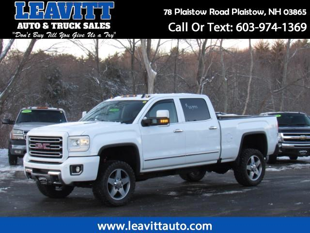2016 GMC Sierra 2500HD SLT Crew Cab Short Bed 4WD