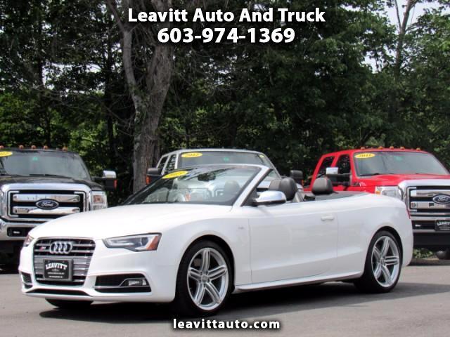 2013 Audi S5 PRESTIGE CONVERTIBLE