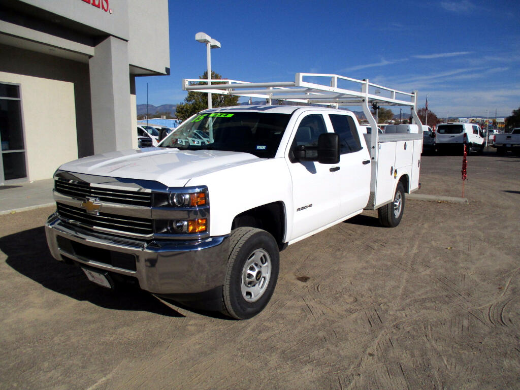 2015 Chevrolet Silverado 2500HD Work Truck Crew Cab Long Box 4WD