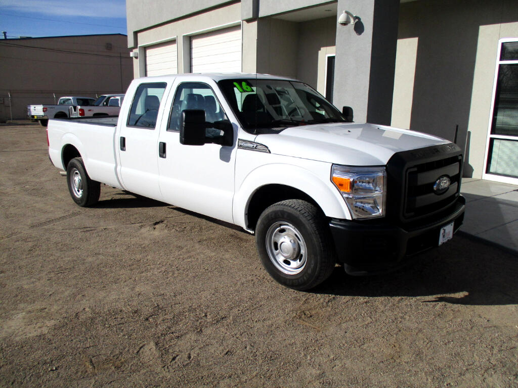 2016 Ford F-250 SD XL Crew Cab Long Bed 2WD