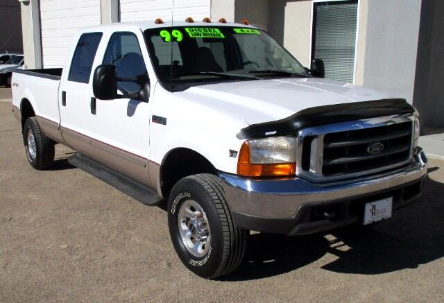 1999 Ford F-350 SD Lariat Crew Cab Long Bed 4WD