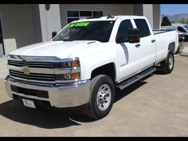 2016 Chevrolet Silverado 3500HD Work Truck Crew Cab Long Box 4WD