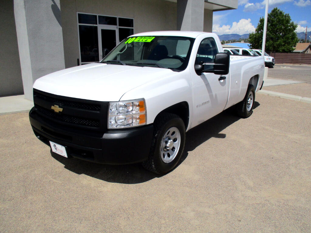 2010 Chevrolet Silverado 1500 Work Truck Long Box 4WD