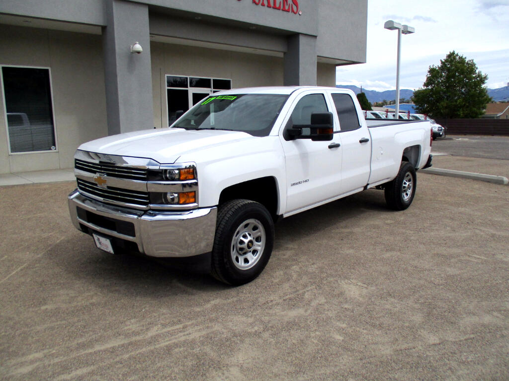2017 Chevrolet Silverado 3500HD Work Truck Double Cab Long Box 2WD