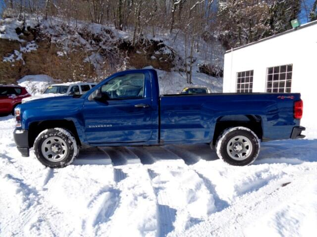 2016 Chevrolet Silverado 1500 Work Truck Long Box 4WD