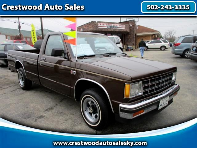 1986 Chevrolet S10 Regular Cab 2WD