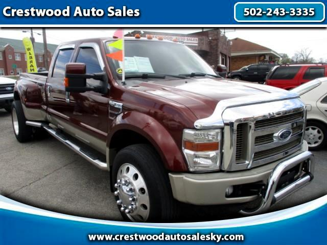 2008 Ford F-450 SD King Ranch Crew Cab 4x4