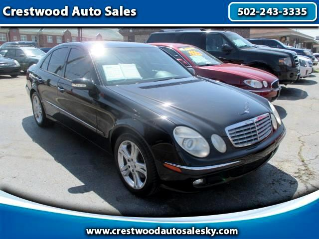 2006 Mercedes-Benz E-Class 4dr Sdn E 350 Luxury 4MATIC