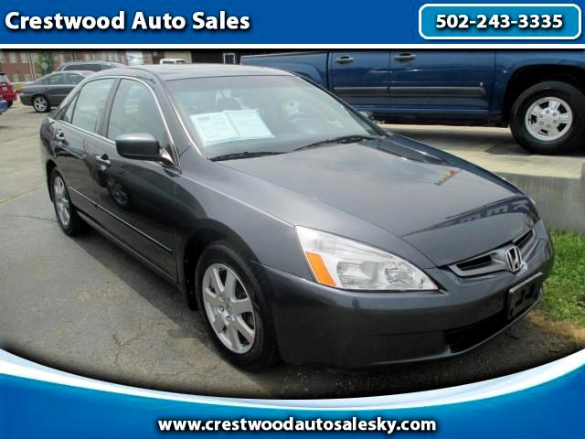 2005 Honda Accord EX Sedan AT w/ Leather and XM Radio
