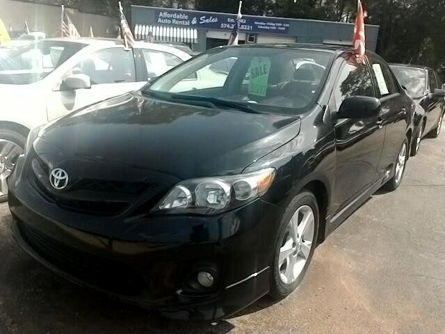 2012 Toyota Corolla S 5-Speed MT