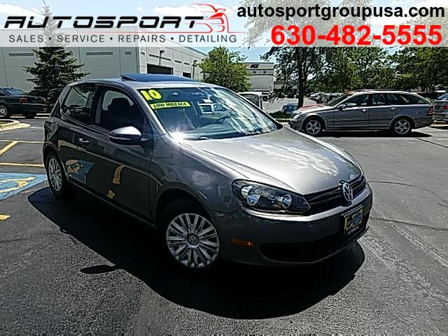 2010 Volkswagen Golf 2.5L 2-Door