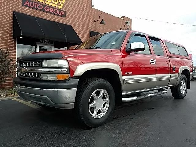 2001 Chevrolet Silverado 1500 LT Ext. Cab Long Bed 4WD