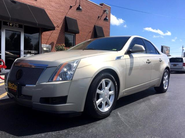 2008 Cadillac CTS Base Coupe AWD