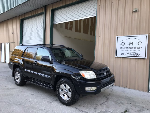 2004 Toyota 4Runner SR5 Sport Edition 2WD Automatic Sunroof