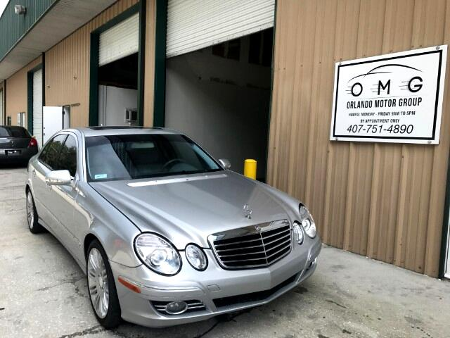 2008 Mercedes-Benz E-Class E350 Luxury Leather Navigation Wood Trim Sunroof