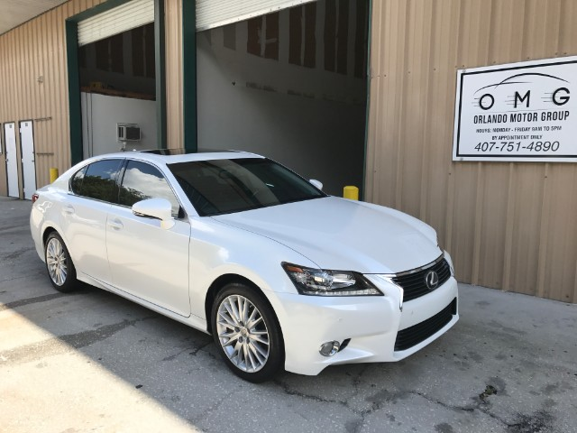 2013 Lexus GS 350 Luxury Sunroof Navigation Cooled Leather Warranty