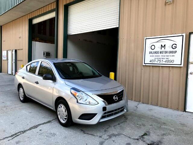 2015 Nissan Versa S Sedan Warranty Automatic Bluetooth Cruise CD Aux
