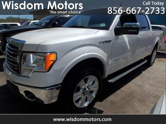 2013 Ford F-150 4x4 Lariat 4dr SuperCrew Styleside 5.5 ft. SB