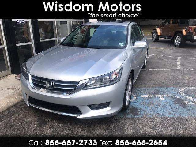 2014 Honda Accord EX-L Sedan AT with Navigation