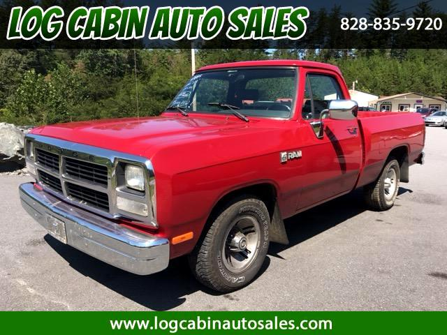 1991 Dodge D150 Reg. Cab 6.5-ft. Bed 2WD