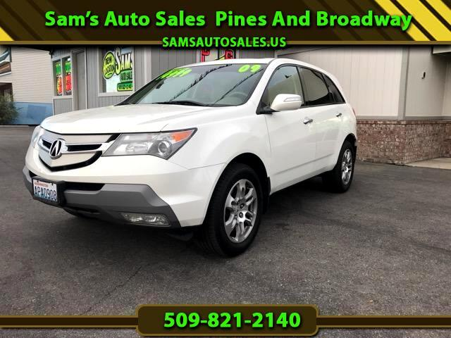2009 Acura MDX SH-AWD 6-Spd AT w/Tech and Entertainment Package