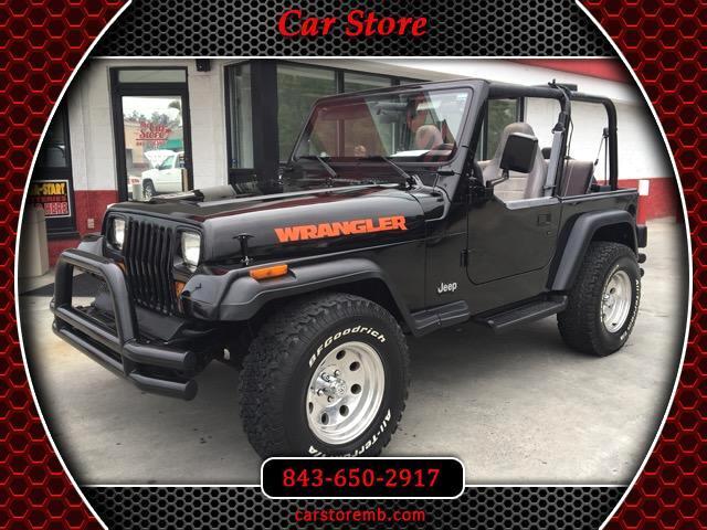 1989 Jeep Wrangler S Soft Top