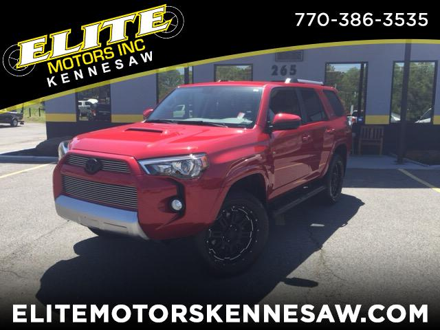 2016 Toyota 4Runner SR5 4WD XP PACKAGE
