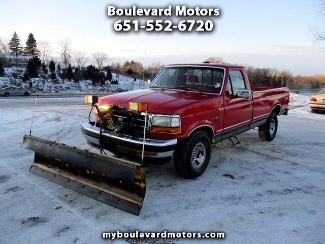 1993 Ford F-150 4X4 Regular Cab Plow Truck