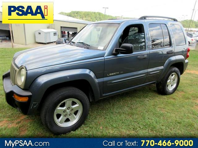 2002 Jeep Liberty Limited 2WD